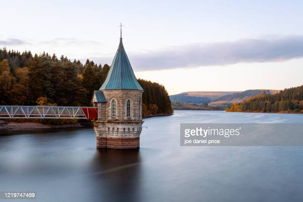 pontsticill reservoir, merthyr tydfil, brecon beacons, wales - reservoir stock pictures, royalty-free photos & images