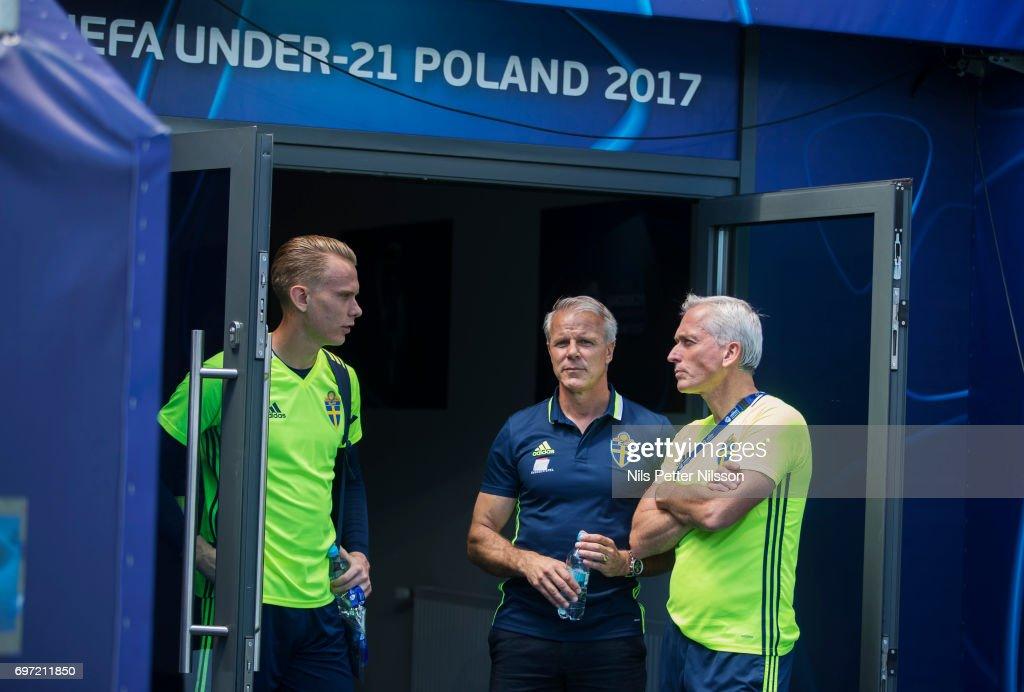 Sweden Training Session - 2017 UEFA European Under-21 Championship : News Photo