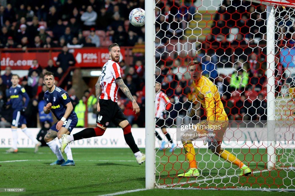 Brentford v Fulham - Sky Bet Championship : News Photo