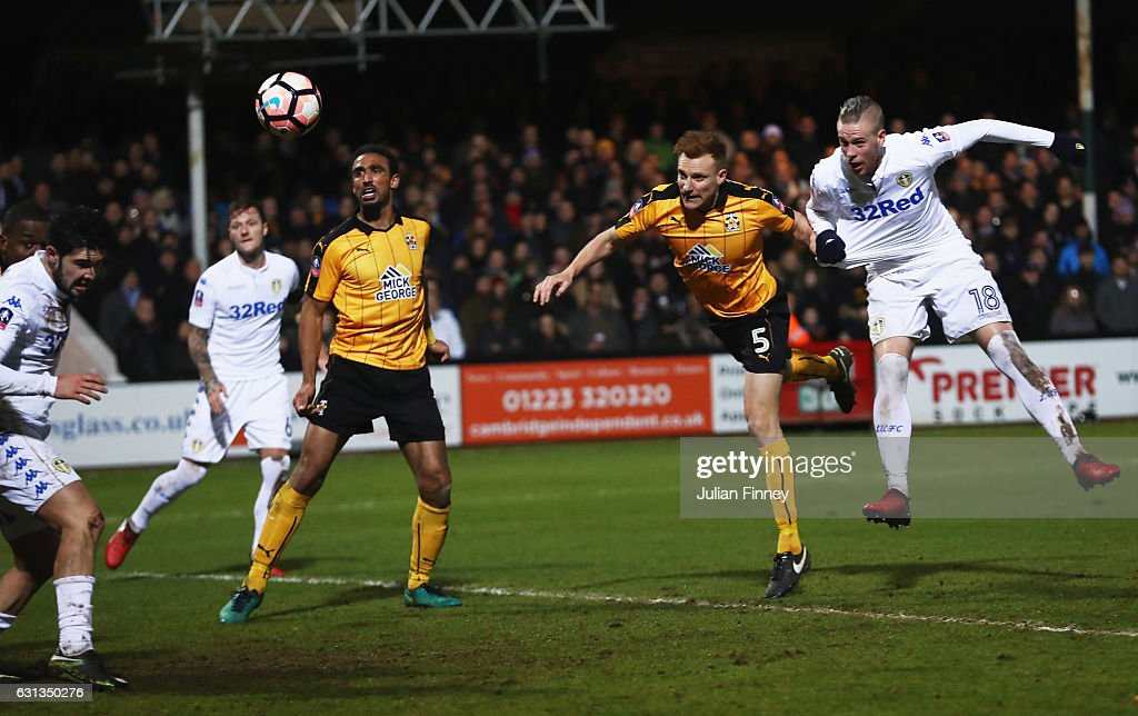 Cambridge United v Leeds United - The Emirates FA Cup Third Round