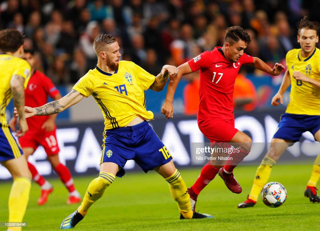 Sweden v Turkey - UEFA Nations League B : News Photo