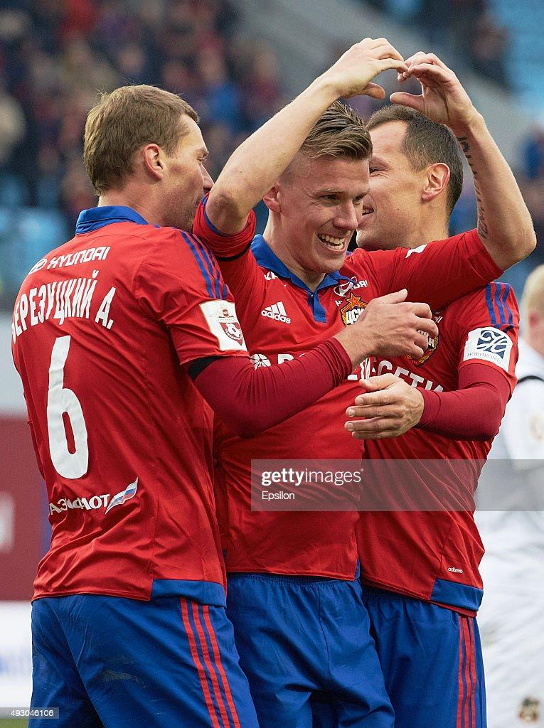 CSKA Moscow v FC Ural Sverdlovsk Oblast - Russian Premier League