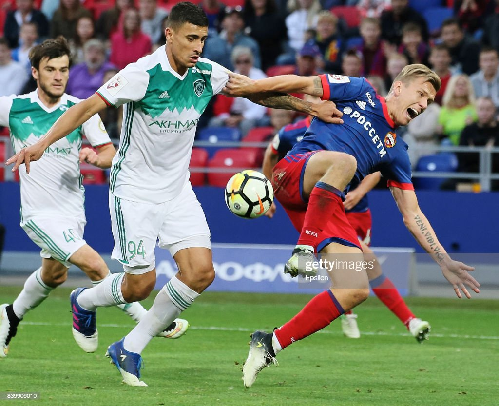 PFC CSKA vs FC Akhmat Grozny - Russian Premier League