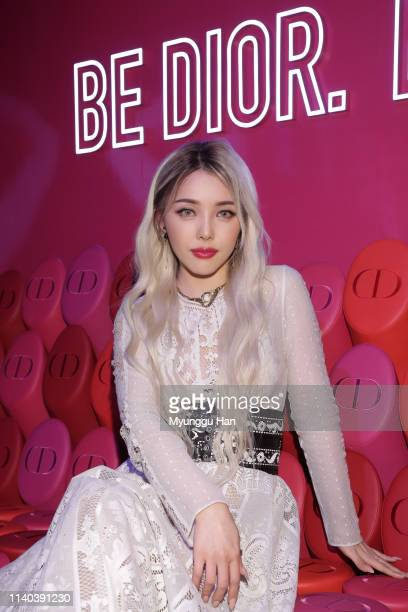 Pony attends Dior Addict Stellar Shine launch at Layers 57 on April 04 2019 in Seoul South Korea
