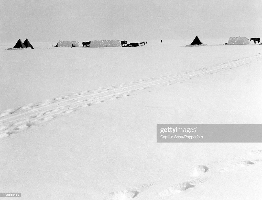 Photograph By Captain Scott   -   Antarctica : News Photo