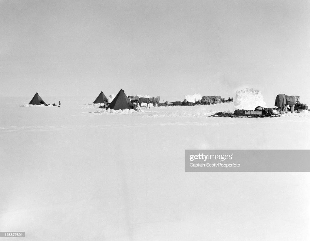 Captain Scott Antarctic Exploration : News Photo