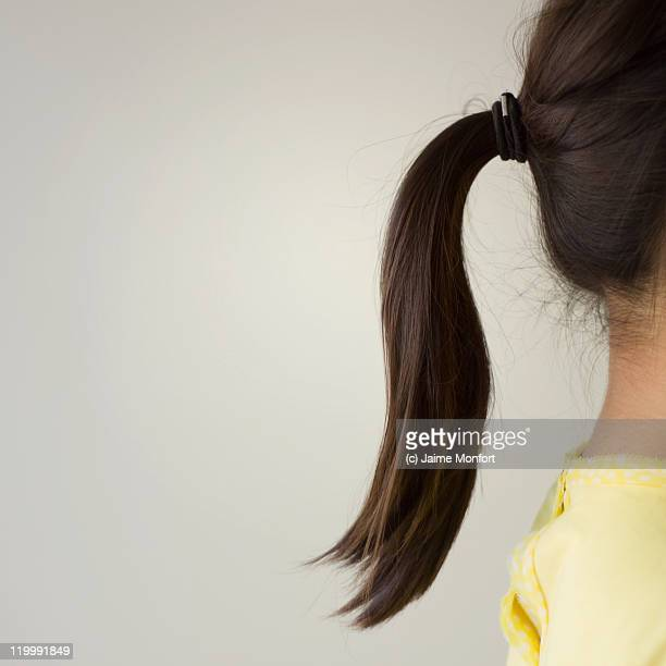 ponytail - ponytail stock pictures, royalty-free photos & images