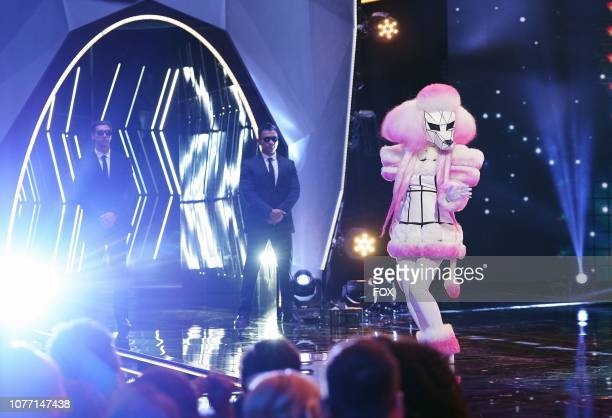 Poodle in the New Masks on the Block episode of THE MASKED SINGER airing Wednesday Jan 9 on FOX
