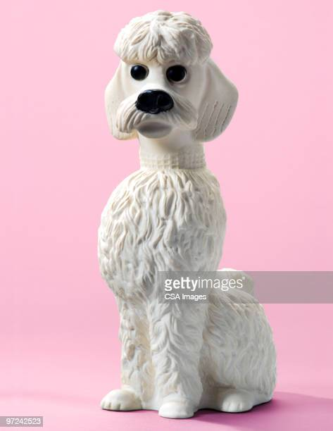 poodle - figurine stock pictures, royalty-free photos & images