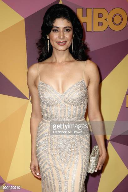 Pooja Batra attends HBO's Official Golden Globe Awards After Party at Circa 55 Restaurant on January 7 2018 in Los Angeles California