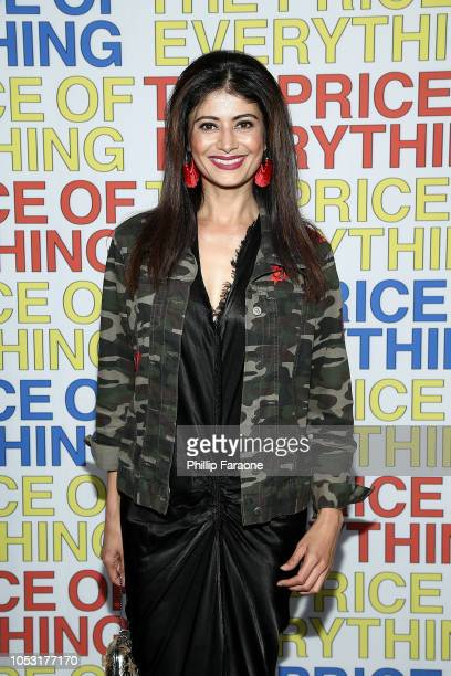 Pooja Batra attends HBO's The Price of Everything premiere at Hammer Museum on October 24 2018 in Los Angeles California