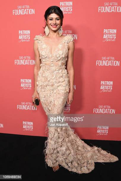 Pooja Batra attends SAGAFTRA Foundation's 3rd Annual Patron Of The Artists Awards at Wallis Annenberg Center for the Performing Arts on November 8...
