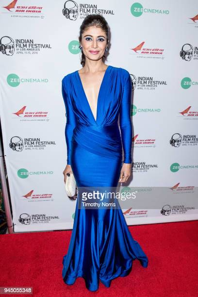 Pooja Batra attends the 16th Annual Indian Film Festival Of Los Angeles opening night premiere of 'In The Shadows' at Regal LA Live Stadium 14 on...