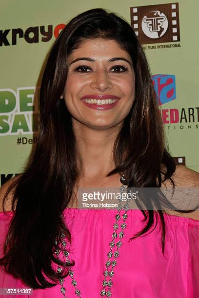 Pooja Batra attends the Delhi Safari Los Angeles premiere at Pacific Theatre at The Grove on December 3 2012 in Los Angeles California
