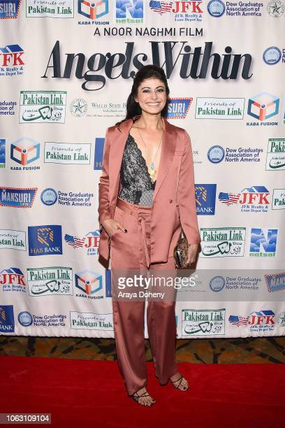 Pooja Batra attends the premiere of Angels Within By Pakistan Link/Mansuri Show/Ary TV on November 17 2018 in West Hollywood California