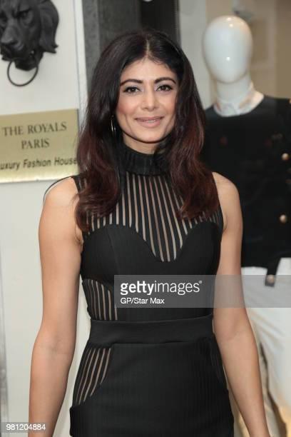 Pooja Batra is seen on June 21 2018 in Los Angeles CA