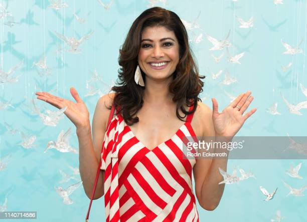 Pooja Batra poses for portrait at WonderWorld Hollywood and Experience PopUp Opening Night Party on April 05 2019 in Hollywood California