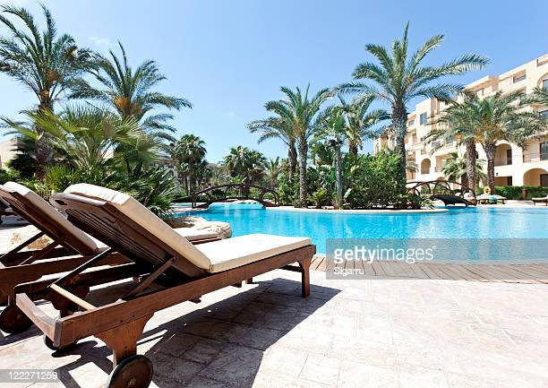pool area - poolside stock pictures, royalty-free photos & images