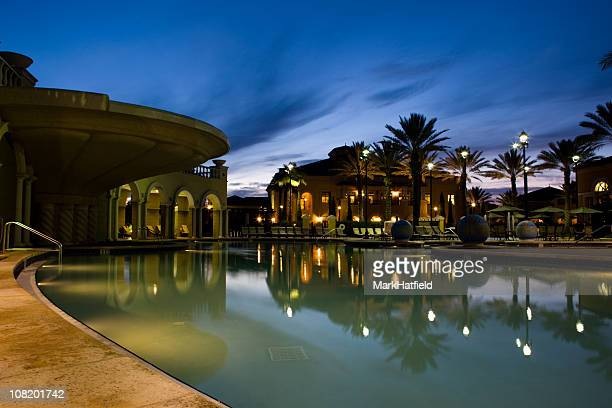 pool at resort - file:orlando stock pictures, royalty-free photos & images