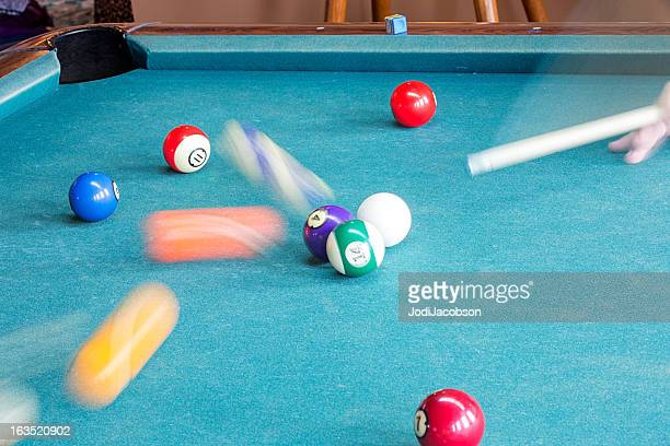 Pool Balls in Motion