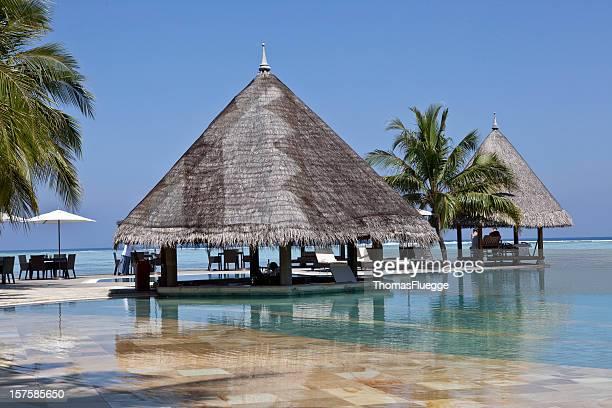 Pool-bar auf den Malediven