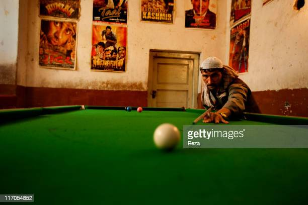 A pool hall May 17 2009 in Pole Khumri Afghanistan