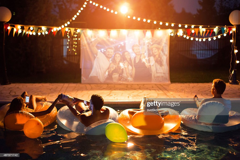 Pool-party. : Stock-Foto