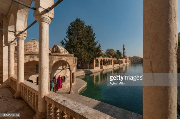 Pool of Abraham with Rizvaniye Mosque,Sanliurfa,South East Anatolia of Turkey