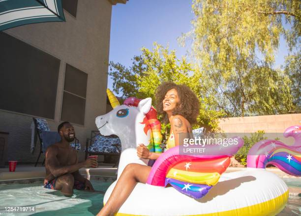 pool party - pool party stock pictures, royalty-free photos & images