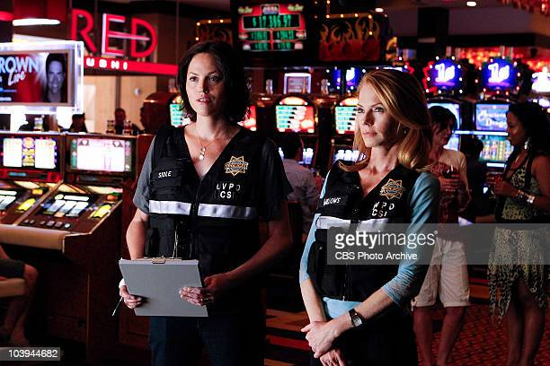 Pool Shark Catherine and Sara investigate the death of a woman killed in a Las Vegas day club pool on CSI CRIME SCENE INVESTIGATION Thursday Sept 30...
