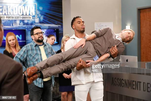 NEWS 'Pool Show' Episode 204 Pictured Horatio Sanz as Justin Rashad Jennings as Carvell Adam Campbell as Greg