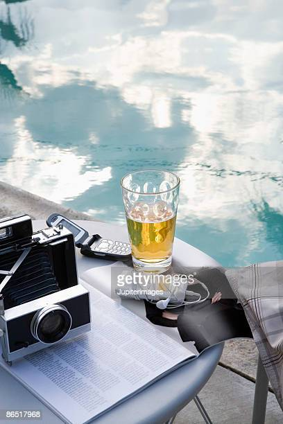 Poolside accoutrements