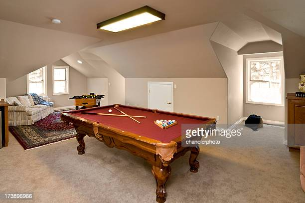 Pooltable Spielzimmer