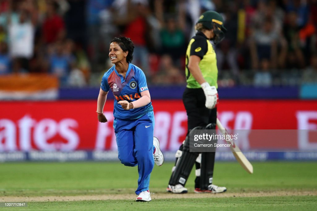 Australia v India - ICC Women's T20 Cricket World Cup : News Photo