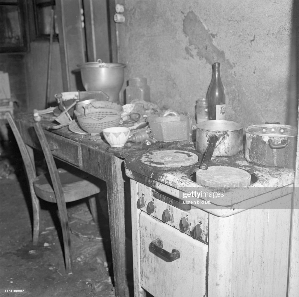 Poor Family Lives In The Dirt 1967 Kitchen News Photo Getty Images