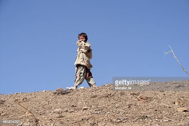 Poor Hazara boy from Nili Center, Daikundi Province.