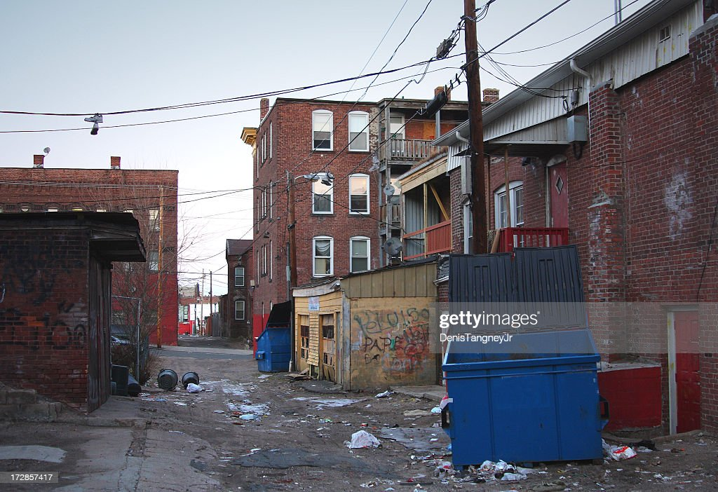 Poor Neighborhood : Stock Photo