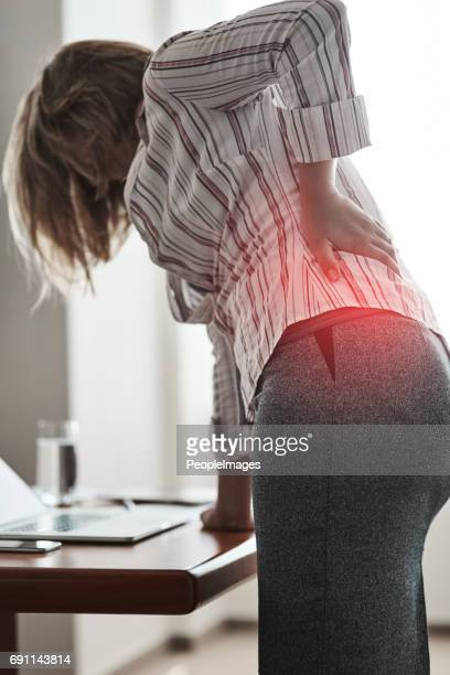 Poor posture can lead to great discomfort