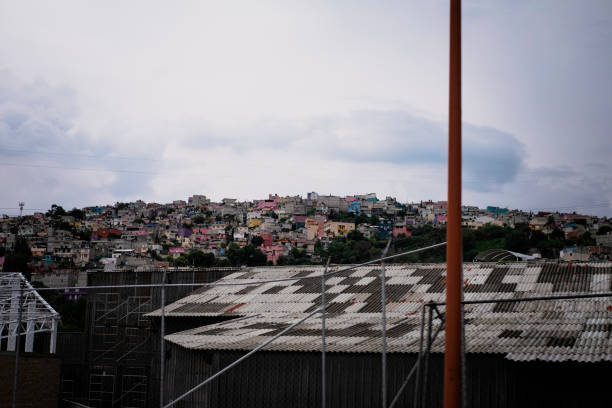 Poor suburbs of Mexico city
