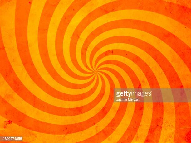 pop art swirl background - spotted stock pictures, royalty-free photos & images