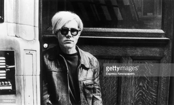 Pop artist and film-maker Andy Warhol .