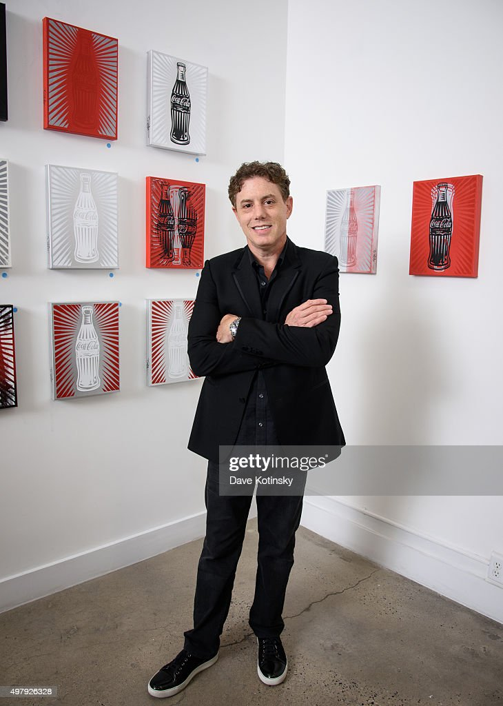 Pop Artist Burton Morris attends the Sheila Rosenblum Resident Magazine Cover Party at Soho Contemporary Art Gallery on November 19, 2015 in New York City.