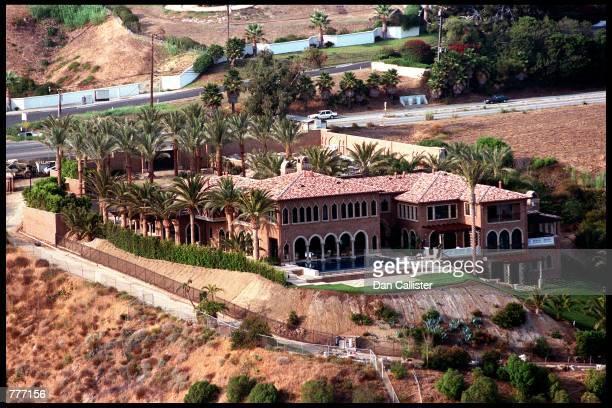 Pop artist Cher's new luxury home overlooks the Pacific Ocean July 29 2000 in Malibu CA