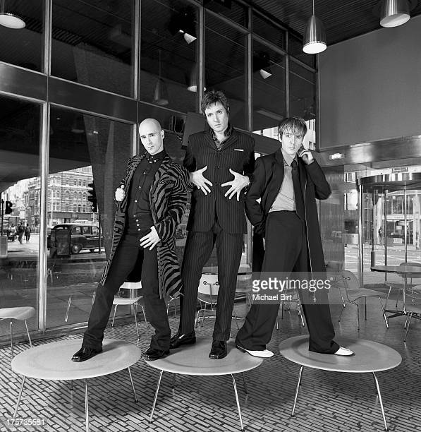 Pop band Duran Duran are photographed on March 7 1999 in London England