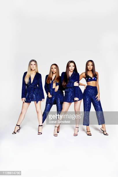 Pop band Little Mix are photographed for the Times on October 18 2018 in London England