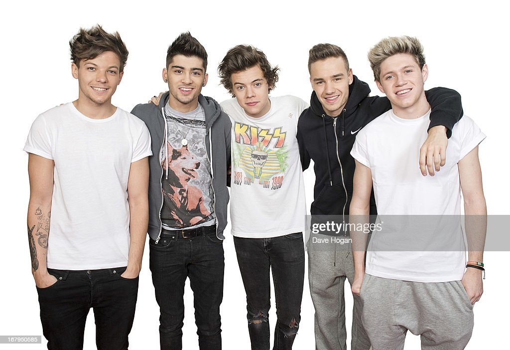 One Direction, Portrait shoot, April 20, 2013