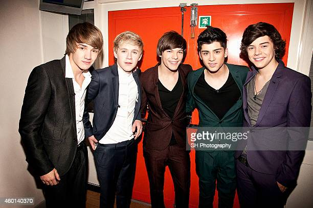 Pop band One Direction are photographed on December 11 2010 in London England