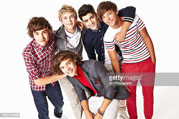 Pop band One Direction are photographed on December 21 2010 in London England
