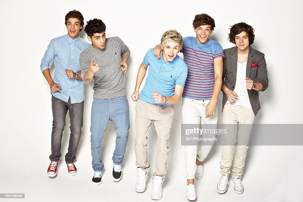 One Direction, Portrait assignment, May 9, 2012 : News Photo