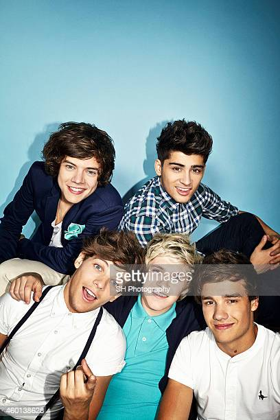 Pop band One Direction are photographed on May 9 2012 in London England